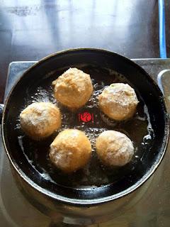 How to Make Cocoyam Balls 8