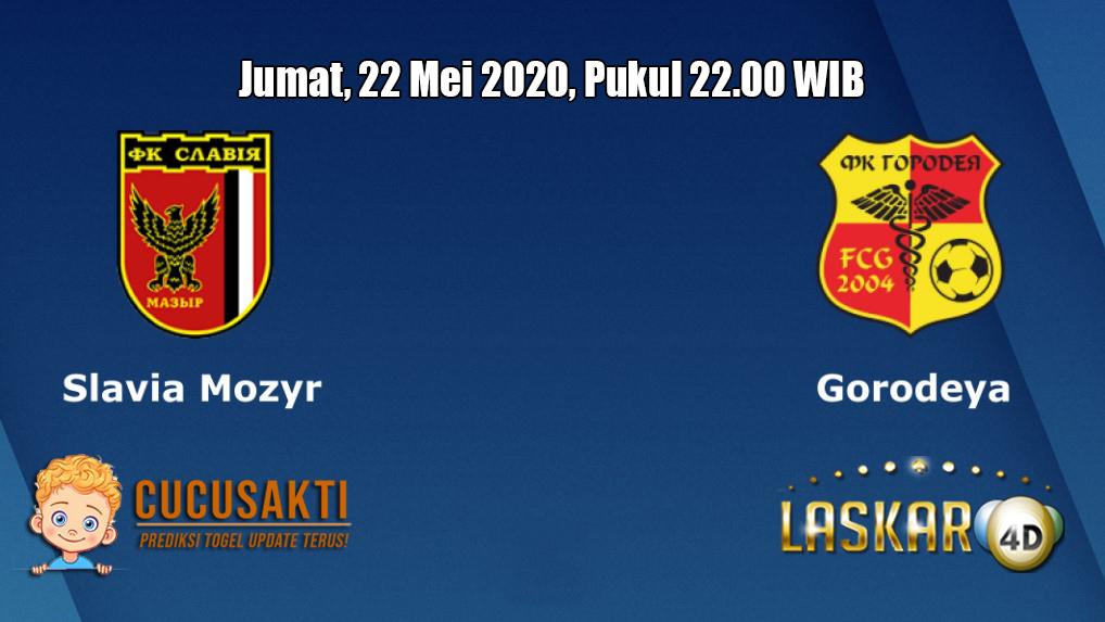 Prediksi Slavia Mozyr VS FK Gorodeya 22 Mei 2020