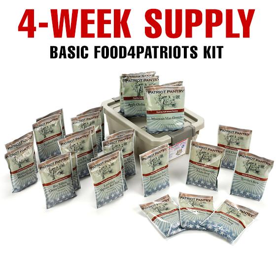 four week food supply limit food4patriots