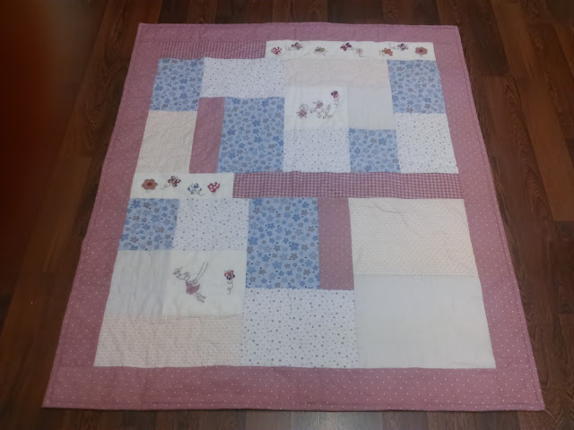 Colcha bebe coleccion Quilters Garden by Lynette Anderson