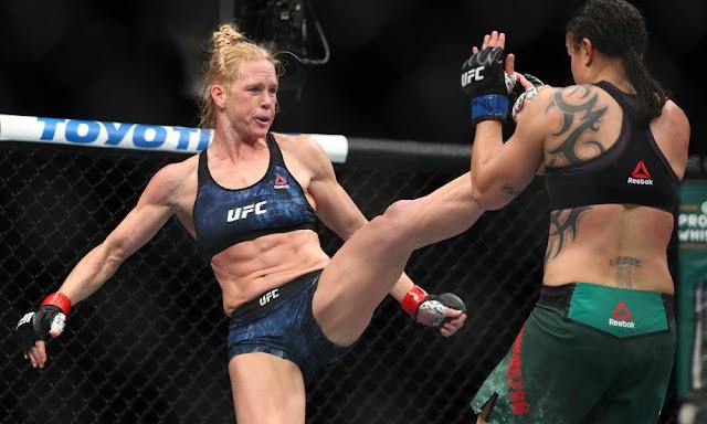 Holly Holm beats Raquel Pennington in Las Vegas