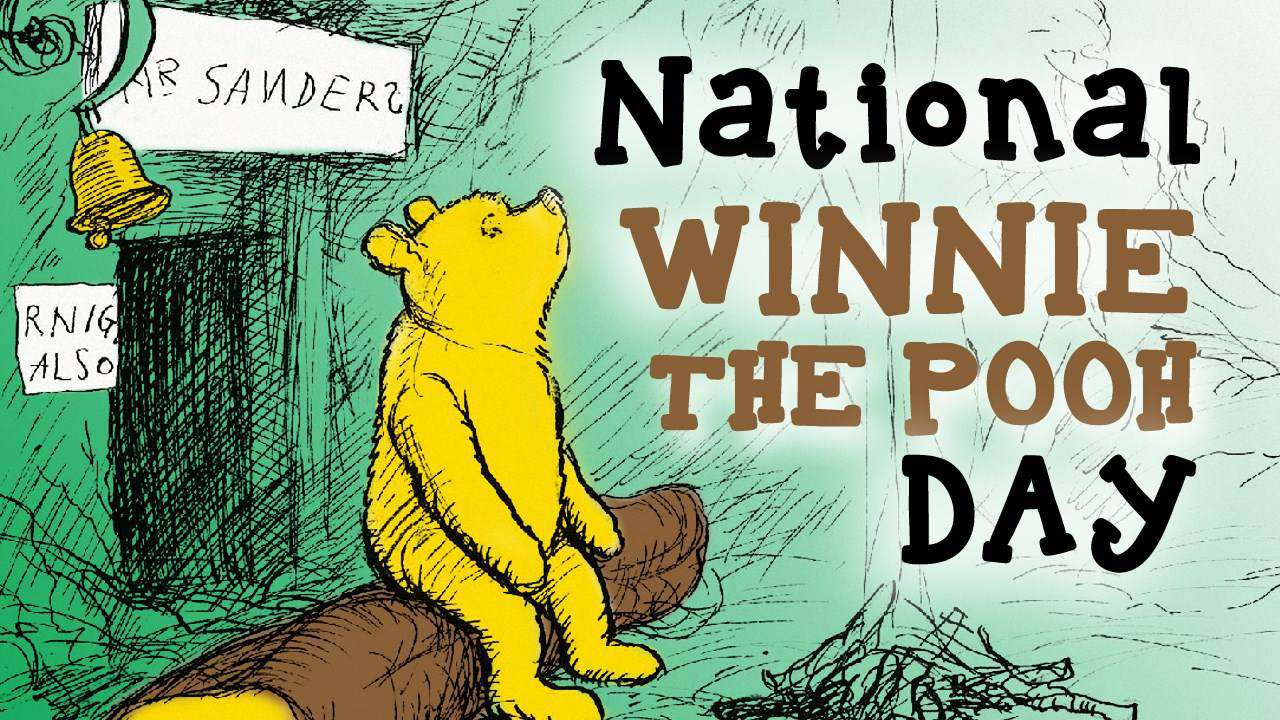 National Winnie the Pooh Day Wishes Sweet Images