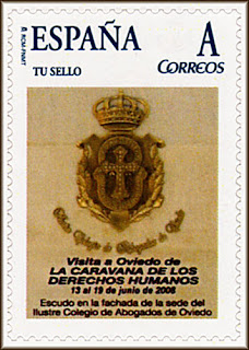 sello, personalizado, tu sello, caravana, derechos humanos, Oviedo