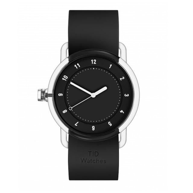 The black No.3 timepiece from TID.