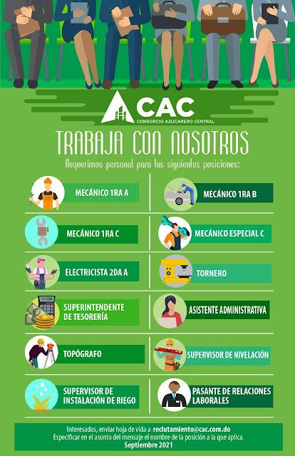 El CAC avisa que tiene varias vacantes disponibles