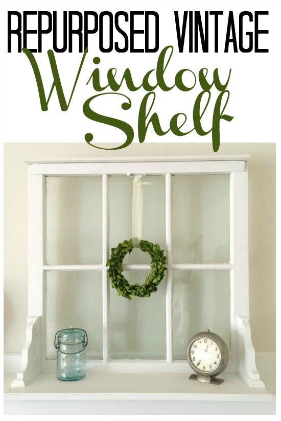 window shelf with overlay