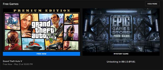 Grand Theft Auto V versi PC gratis di Epic Games Store