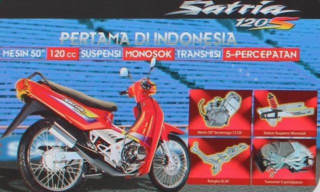 BLESS FOR MY THIRTEEN: Suzuki Satria 120 2-Tak, Raja Bebek ...