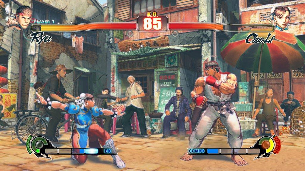 تحميل لعبة Street Fighter IV