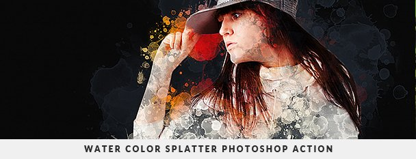 Grunge Painter Photoshop Action - 125