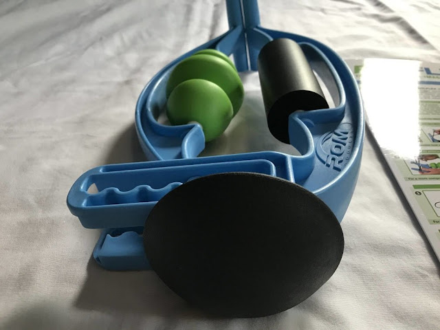 RolFlex massager sports fitness running athletic muscle knots pain tension product review recovery virtual race