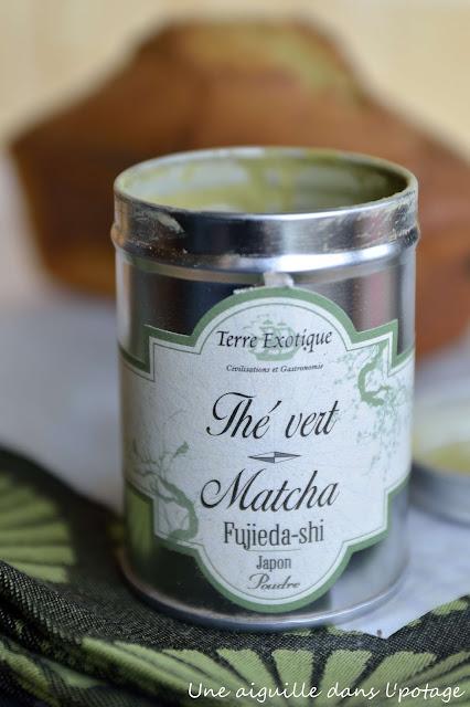 thé matcha terre exotique