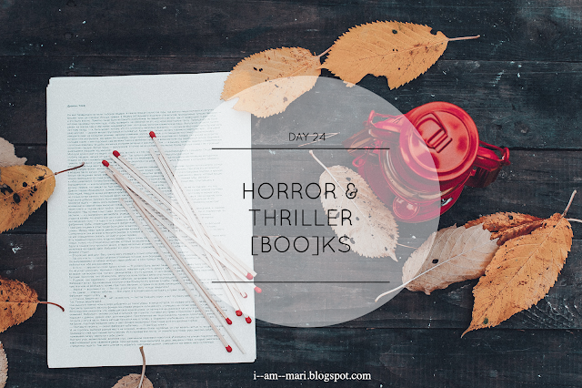 Horror/Thriller Books