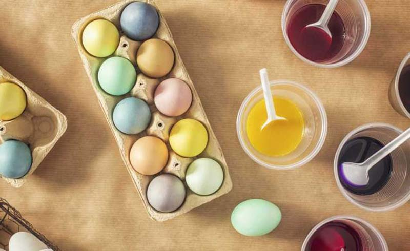 can you eat dyed easter eggs, easter egg food safety, can you eat colored eggs