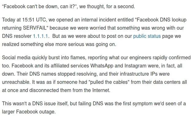 cloudflare bgp stop facebook