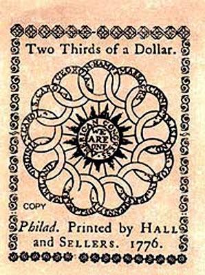 antica banconota usa