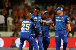 SRH vs DC 30th Match IPL 2019 Highlights
