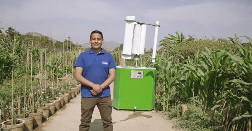 MAX HIDALGO QUINTO: Peruano que descubrió cómo obtener agua limpia a partir de humedad es premiado por la ONU [VIDEO]