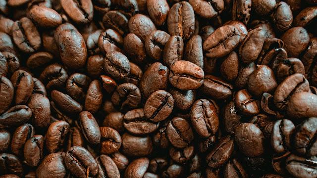 Grãos De Café Para Plano De Fundo