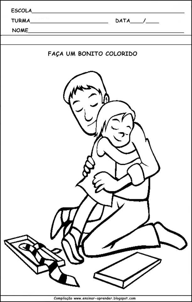 16 Atividades Sobre O Dia Dos Pais Ineditas Cantinho Do Educador