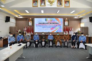 Bupati Sambut BPK RI Perwakilan Sumatera Utara Laksanakan Kunjungan Kerja Di Batu Bara