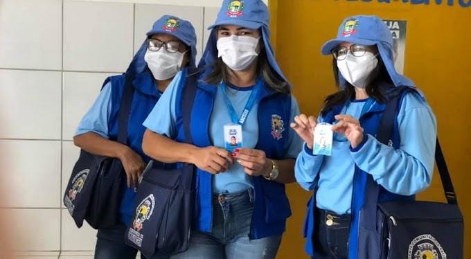 Ceará: Agentes comunitárias de saúde recebem novo kit de fardamento
