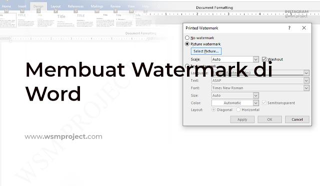 Cara-Membuat-Watermark-di-Word