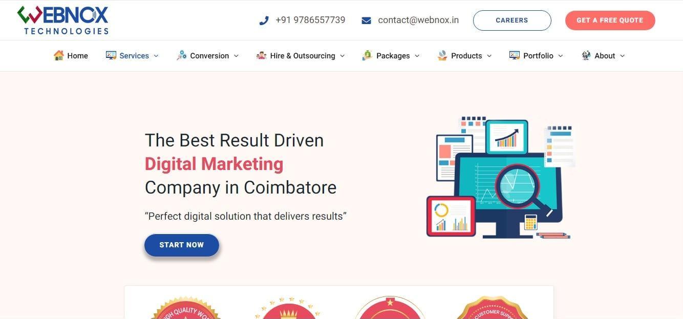 Webnox - Digital Marketing company