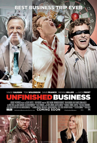 Unfinished Business [2015] [DVDR] [Custom – HD] [Latino]