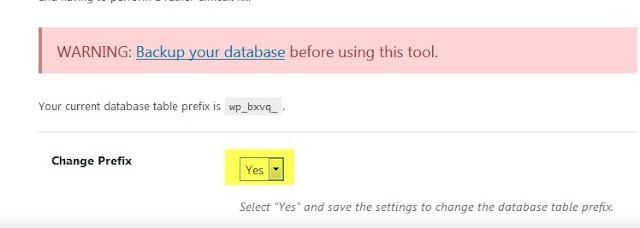change prefix box