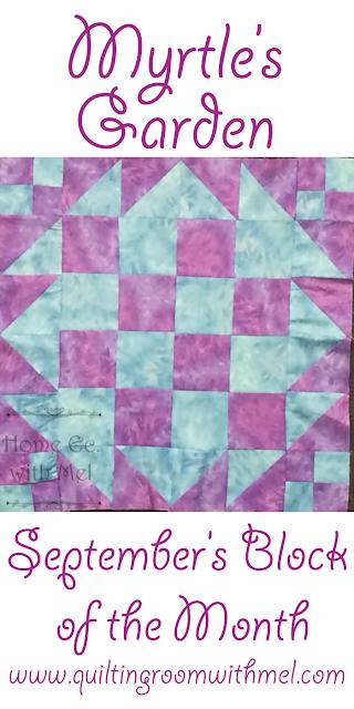 myrtles garden quilt block