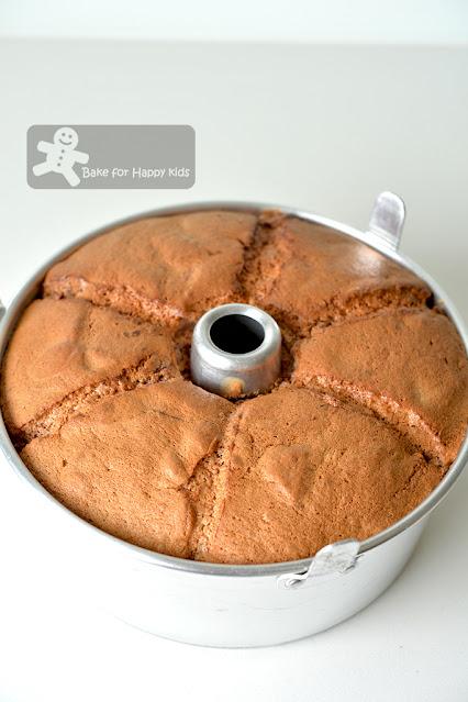 ultra cottony soft cherry chiffon cake