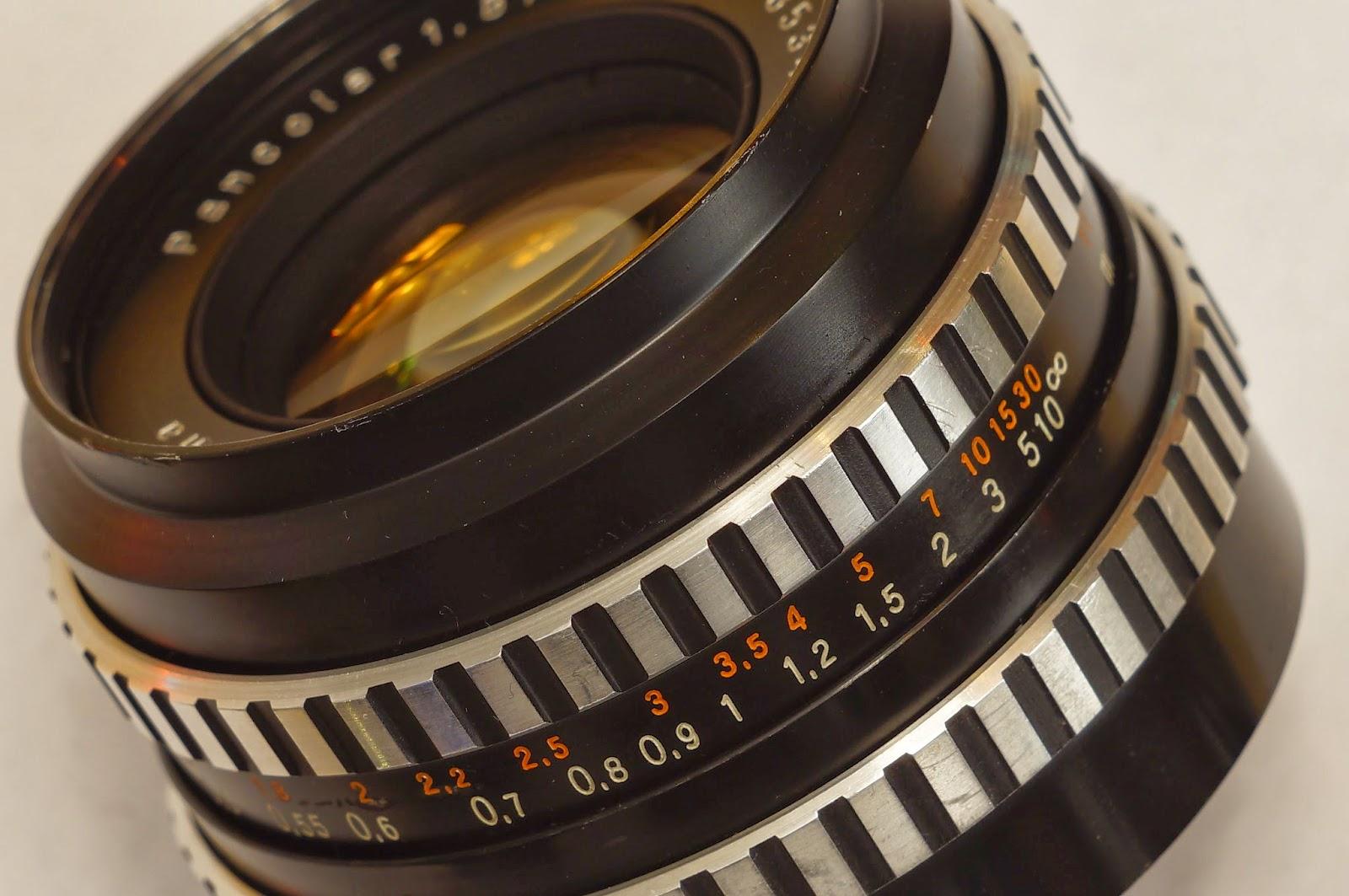 Carl Zeiss Jena Pancolar 50mm f/1.8 Zebra M42