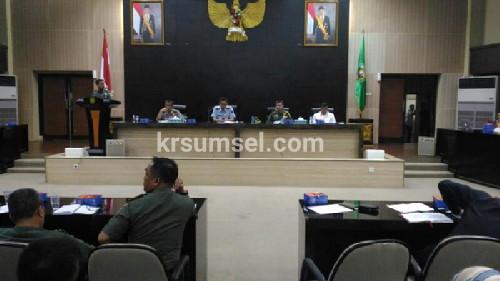 Komandan Korem 044/Gapo Pimpin Rakor Wapres RI