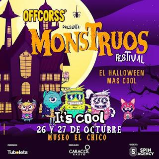 Festival MONSTRUOS 2019 | Halloween en Museo del Chico