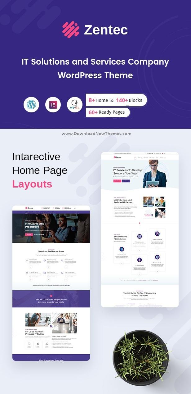 IT Solutions Company WordPress Theme