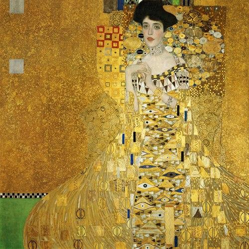 Portrait of Adele Bloch-Bauer I, Gustav Klimt