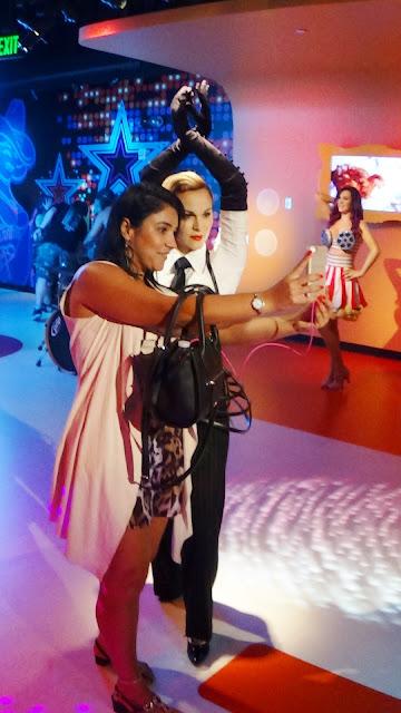 Um dia no Museu Madame Tussauds em Orlando