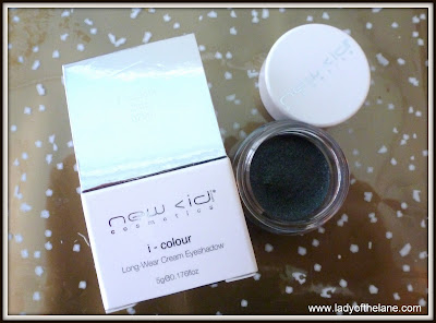 New CID Cosmetics i-colour long wear cream eyeshadow