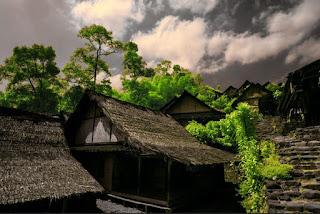 Rumah Suku Baduy Banten