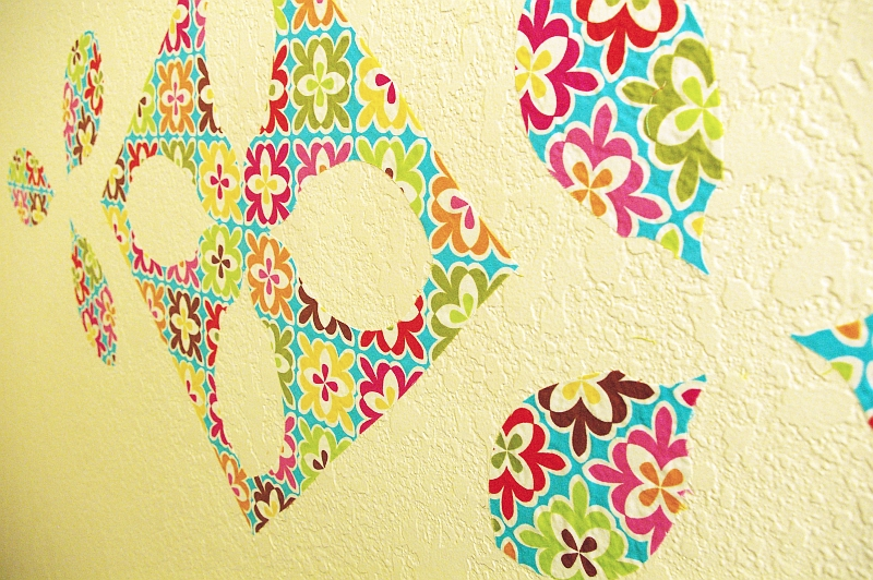 Home decor  Fabric wall art