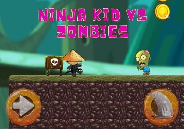 100% Free Ninja Kid vs Zombies game - Online  Platformer game,Ninja Kid vs Zombies game