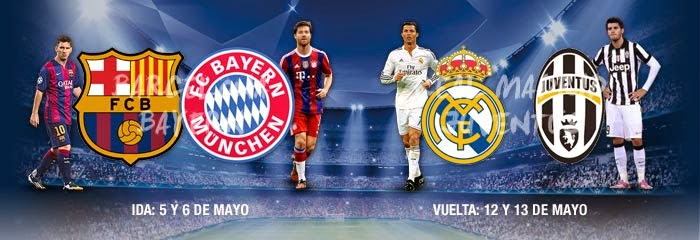 CHAMPIONS LEAGUE SEMI FINALS 2015
