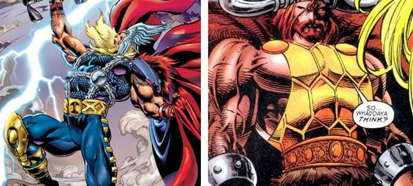 daftar senjata thor god of thuner marvel