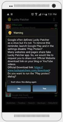 تحميل برنامج lucky patcher افضل برنامج تهكير الالعاب لوكي باتشر 7.4.2
