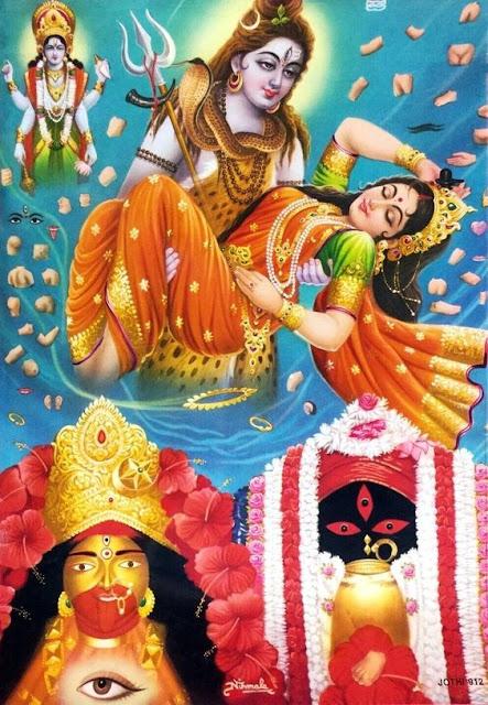 lord shiva and sati