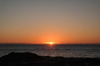 Sunset @ Cliff Head