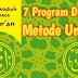 7 Program Dasar Metode Ummi || Metode Mengajarkan Al-Qur'an yang Efektif, Mudah, Menyenangkan dan Menyentuh Hati