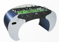 İlginç ve modern tasarımlı bir langırt oyun masası