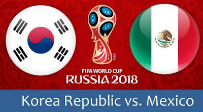 #WorldCup: Korea Republic VS Mexico (Watch Here)
